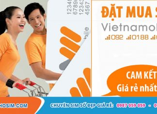 Sim Vietnamobile giá rẻ đẹp